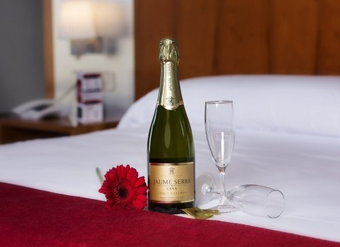 Enjoy the best moments in our hotel with a cava.